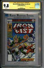 * Marvel Milestone Edition: Iron FIST #14 CGC 9.8 SS Claremont (1580619017) *