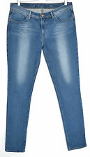 Levis Skinny Revel Mid Rise Shape Lift bleu jeans stretch Taille 14 W32 L32