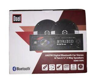 "*NEW* - Dual Bluetooth Stereo & Two 6.5"" 2-Way Speakers model xdm17spk"
