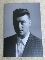 Sam Smith Tour Book Concert Program 2015 In The Lonely Hour Thrill Of It All VIP