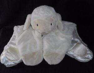 GUND BABY COMFY COZY LOPSY SHEEP LAMB STUFFED ANIMAL PLUSH TOY SECURITY BLANKET