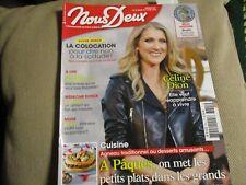"""REVUE """"NOUS DEUX N°3691 - 2018"""" Celine DION, Yves MOUROUSI"""