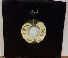 Yoko Ono: Listen the Snow is Falling / Happy Xmas Green Vinyl 45 RPM Apple #1842