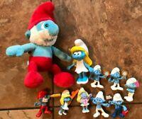 The Smurfs Lot 10 Build a Bear Burger King McDonald's Kids Peyo