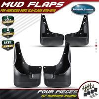 Auto Fender Mud Guards Splash Flaps Mudguards Car Styling Accessories MINMIN 4pcs Car Front Rear Mud Flap for Mercedes Benz C Class AMG C43 63 Sedan 2015-2020