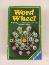 Word Wheel by Ravensburger - Skillful Game of Finding Hidden Words Vintage 1984