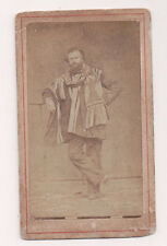 Vintage CDV Distinguished Man Actor, Opera Singer, Aristocrat ??