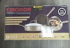 Circulon Premier Nonstick Professional 13-Pc Stainless Steel Base Cookware Set