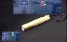 QUALITY UV TORCH 365NM, CHARGER,UV GLUE CURING, PAINT MONEY CHECKING, 2