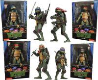 """NECA TMNT Teenage Mutant Ninja Turtles Action Figure 1990 Movie 7"""" PVC Model Toy"""