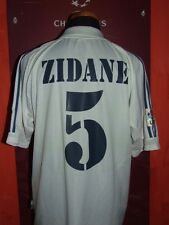 ZIDANE REAL MADRID 2001/2002 MAGLIA SHIRT CALCIO FOOTBALL MAILLOT JERSEY SOCCER
