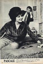 1959, Pascale Petit & Alain Delon Japan Vintage Clippings 1sc6