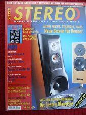 STEREO 9/98 T&A CD 2500R, KENWOOD KAF 1010, PIONEER CT-S 670D, TECHNICS SA-AX 6