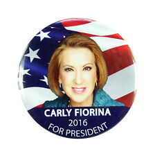 "2016 CARLY FIORINA for PRESIDENT 2.25"" CAMPAIGN BUTTON, cff"