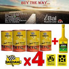 OLIO MOTORE 313040 XTC C60 20W-50 4L (3+1 OMAGGIO) + TOP BENZINA BARDAHL