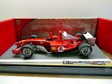 Hotwheels 1:18 Scale Diecast Ferrari F1 Michael Schumacher Bahrain 4/04/2004 Win