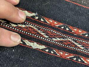 Auth: Antique Veramin Grain bag  RARE Cotton & Wool Collectors Pc 4x3 No Reserve
