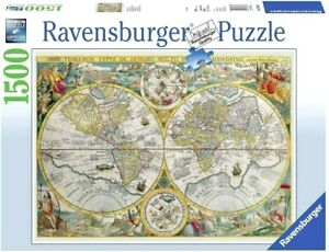 RAVENSBURGER. Historical Map. 1500 PCS. ITEM NR.16381. NEW