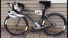 2010 Giant Trinity 1 TT Racing Triathlon Bike 700c Aero bars cage pedals FAST