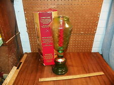 Vintage CHIANTI Wine Bottle Green Street Lamp Candle Holder