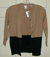 NWT Women's J. Crew XS CLARE CARDIGAN COLOR BLOCK Sweater Cardigan $59