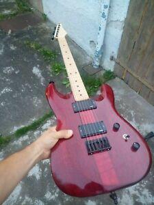 e-gitarre suhr style! mit aktive emg 81 85 pickup's handarbeit einzehlstück!