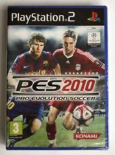 PS2 PES Pro Evolution Soccer 2010, UK PAL BRANDNEU & Sony Factory Sealed