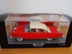 1956 Lincoln Premiere Hardtop Coupe 1:43 NEO