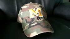 MICHIGAN FOOTBALL CAMO HAT ADJUSTABLE ADULT SIZE GREAT CONDITION FREE SHIPPING