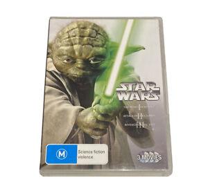 Star Wars Prequel Trilogy - The Phantom Menace / Attack Of The Clones / Revenge