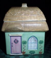 PFALTZGRAFF THE CIRCLE OF KINDNESS TIPPERARY COOKIE COTTAGE STORAGE JAR