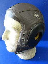 ARMY AIR FORCES PILOT'S TYPE A-11 LEATHER FLYING HELMET