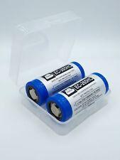 2x Enercig Akku 26650 - 5200mAh + Box für E-Zigaretten/E-Shishas und Akkuträger