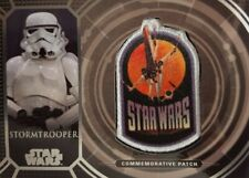 STAR WARS 40th ANNIVERSARY Retro Patch Relic Card STORMTROOPER  PC - 13