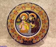 Rosenthal Christmas-Piatto 1982 Cristo viene di Giovanni il Täufer battezzato