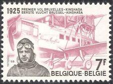 Belgium 1975 Plane/Aircraft/Pilot/Aviation/Aircraft/Flight/Transport 1v (n33825)