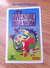 EVADO MANCOLISTE CARD AVVENTURE NELLA NATURA COOP € 0,20 cad. 2012