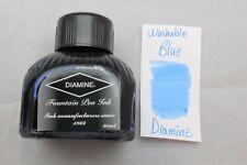 Diamine 80ml Fountain Pen Bottled Ink Washable Blue