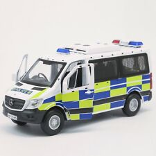 Welly Original Hong Kong Traffic Police Die Cast 1 50 MERCEDES BENZ SPRINTER Van