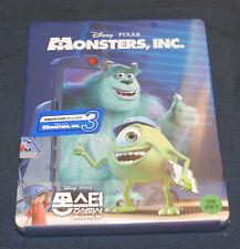 Monsters Inc. (Blu-ray) Steelbook - Kimchi DVD quarter slip - 046/800