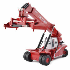 KDW 1:50 Scale Diecast Reach Stacker Truck Construction Vehicle Cars Model Toys