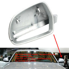 Fit For AUDI A8 D3 4E 08-10 A6 C6 09-11 Q3 12-17 Wing Mirror Cover Silver Left