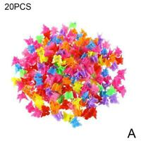20/50/100Pcs Hair Claws Butterfly Hair Clips For Kids T1S4 Be Hairpins Baby F0I5