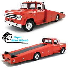 ACME 1:18 - 1970 Dodge D-300 Ramp Truck - Red