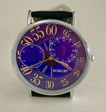 Stunning Exploding Numbers Mystery Dial New Roskopf Watch - Deco Styling