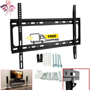TV Wall Bracket Mount Tilt For 32 40 42 50 55 60 65 70 Inch Plasma LCD LED UK