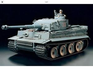 Tamiya 1:16 Tiger 1 Tank Radio Control Full Option Kit