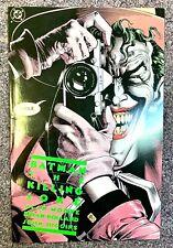 Batman The Killing Joke 1St Printing 1988 Dc Comics Alan Moore Joker Trade Pb