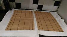 Set bamboo large placemats (x2)