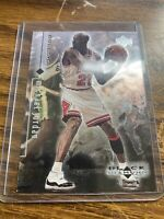 1998-99 UD Black Diamond #10 Michael Jordan Chicago Bulls HOF NM Card NBA